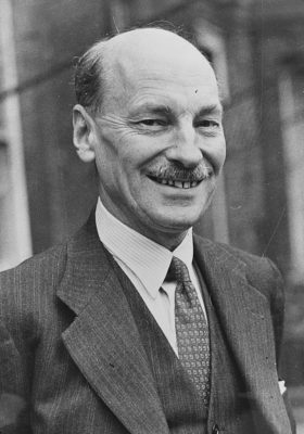 British Prime Minister Clement Attlee. The 1945 U.K. election is often credited with Britain's Welfare State reforms. But how were the two world wars, the Depression, British workers on strike and under arms, and the Welfare State really related?