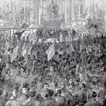 The celebration of the election of the Paris Commune, 28 March 1871