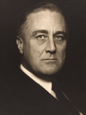 President Franklin D. Roosevelt. FDR is often credited with the New Deal. But how were the CIO upsurge, FDR's elections, and the New Deal really related? (Photo: Vincenzo Laviosa)