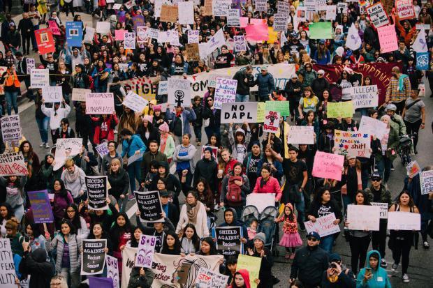 International Women's March, Los Angeles, June 2017.