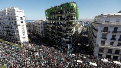 Huge protests in Algeria force out President Abdelaziz Bouteflika