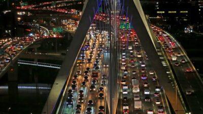 Boston rush hour traffic, November 2019.