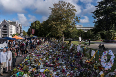 Christchurch mosque attack memorial