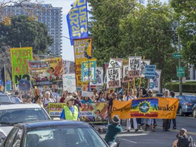 Climate mobilization, Oakland, November 2015.