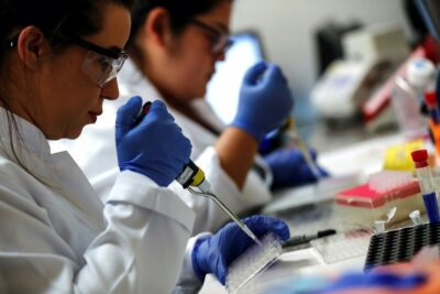 Researchers working to develop a coronavirus vaccine in Brazil — a center of the pandemic in Latin America.