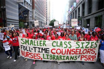 Chicago Teachers Union rally