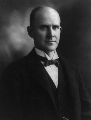 Socialist leader Eugene V. Debs