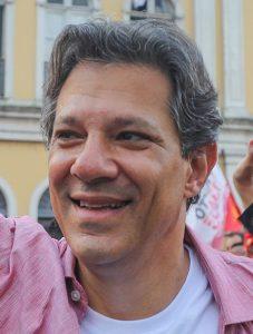 Fernando Haddad campaigning