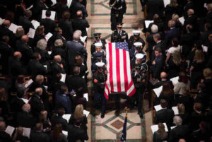 State funeral for George H. W. Bush, December 5, 2018