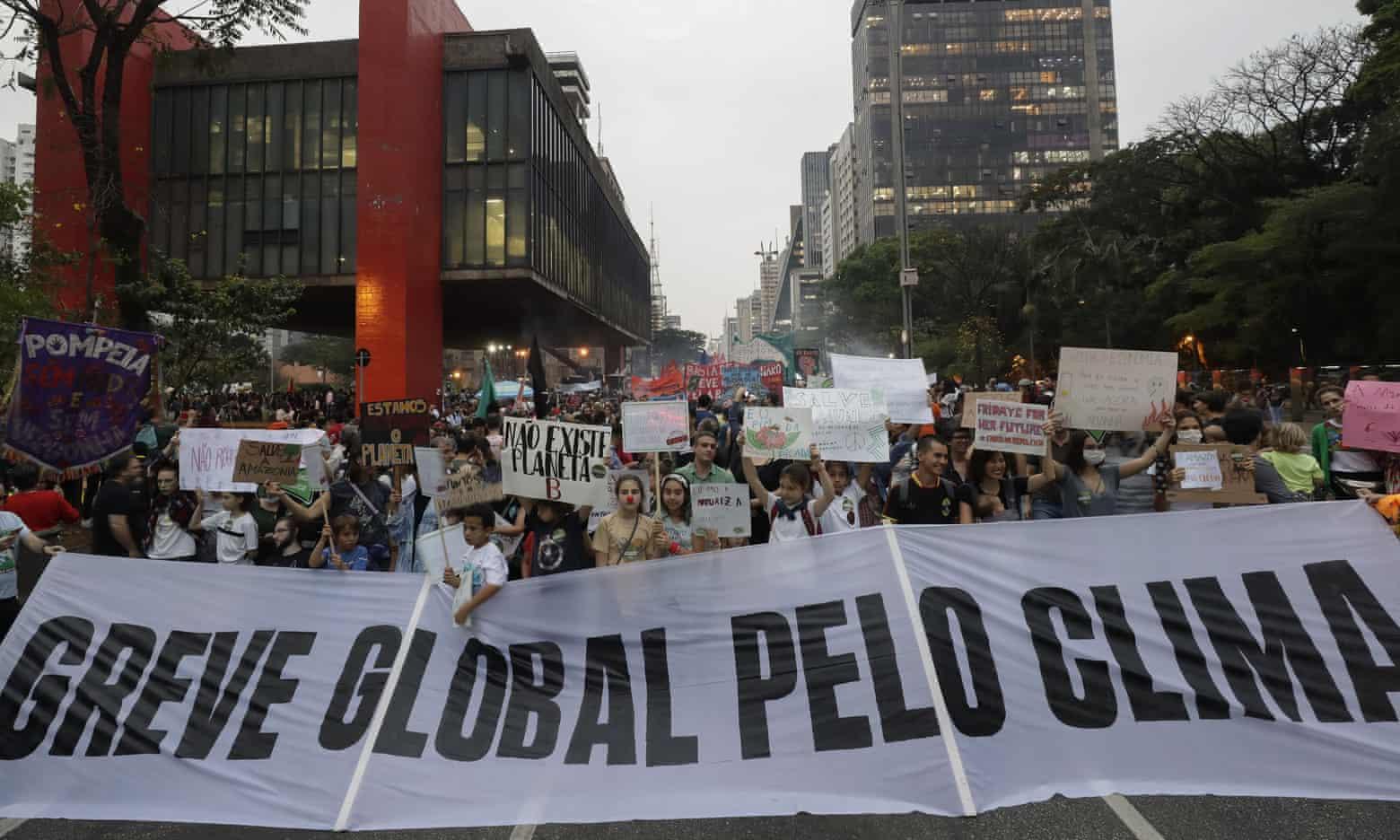 Global climate strike, São Paulo, Brazil, September 20, 2019.