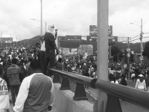 Tegucigalpa protest, December 2, 2017