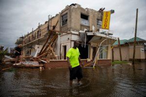 Panama City, Florida, slammed by Hurricane Michael, October 2018
