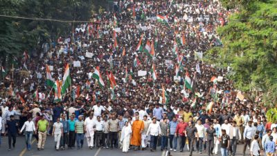 West Bengal protest against the Citizenship Amendment Act and police crackdown on Jamia university, December 2019