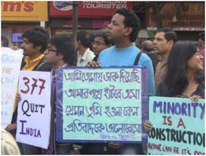 Rally against Section 377 of the India Penal Code