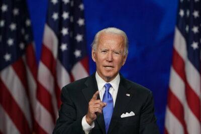 Democratic Party presidential nominee Joe Biden.