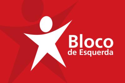 Left Bloc flag