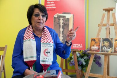 Leila Khaled was censored on major internet platforms at the behest of Israel lobby groups and the Israeli government.