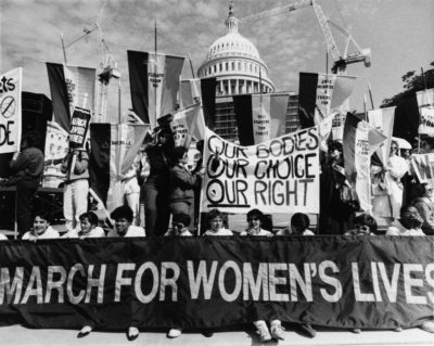 March for Women's Lives, Washington, April 1992