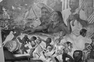 Mexico struggle mural