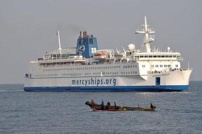 Hospital ship MV Africa Mercy