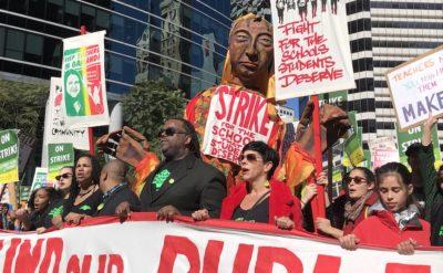 Oakland tachers strike