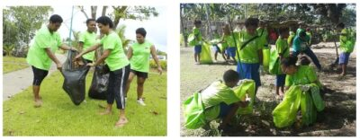 PNG Greens community cleanup
