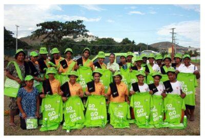 PNG Greens high school students environmental awareness campaign