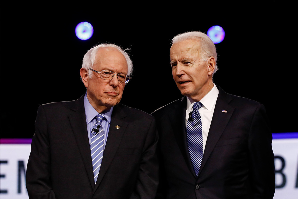 """Joe Biden and Bernie Sanders have formed a Democratic Party """"Unity Task Force."""" Alexandria Ocasio-Cortez and John Kerry, Barack Obama's Secretary of State. will co-chair the climate change group."""
