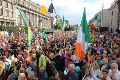 Sinn Féin Right2Water rally, Dublin, 2015
