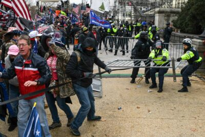 Trumpsters storm the Capital