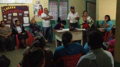 Consejo comunal in Lara, Venezuela