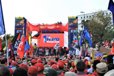 Pro-government May Day rally in Caracas