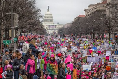 Women's March on Washington, January 2017