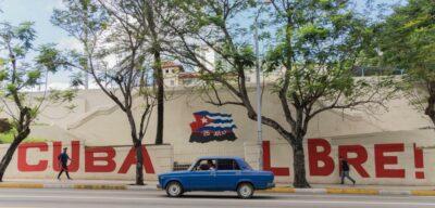 Cuba libre! mural