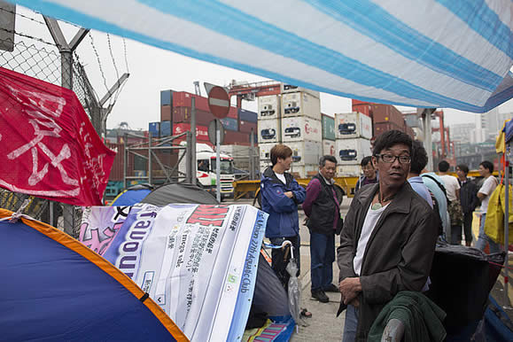 Hong Kong Dockworker Strike